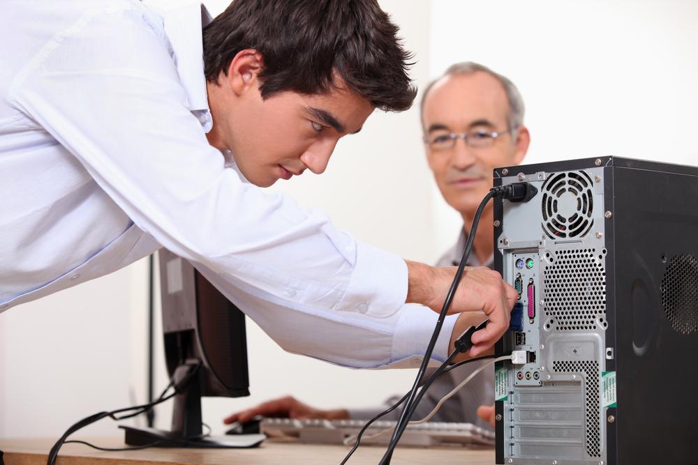 computer probleem aan huis